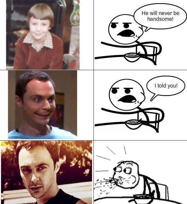 Sheldon in real life