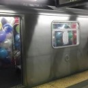 Subway Balloon Prank