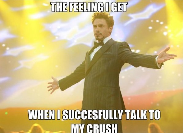 Talking to my crush