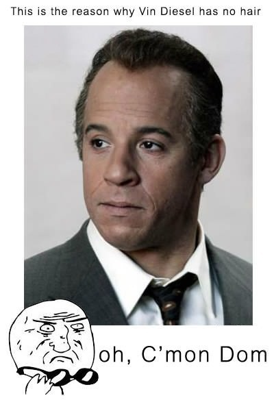 The reason why Vin Diesel has no hair