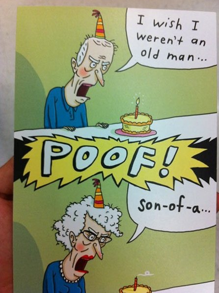 Birthday wish gone wrong