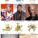 Celebrities evolving as Pokemon