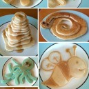Crazy pancake art