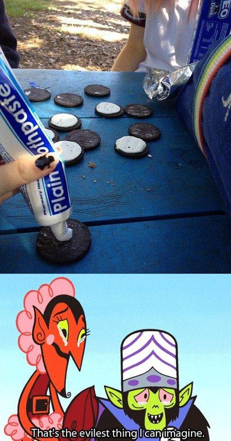 Evil prank