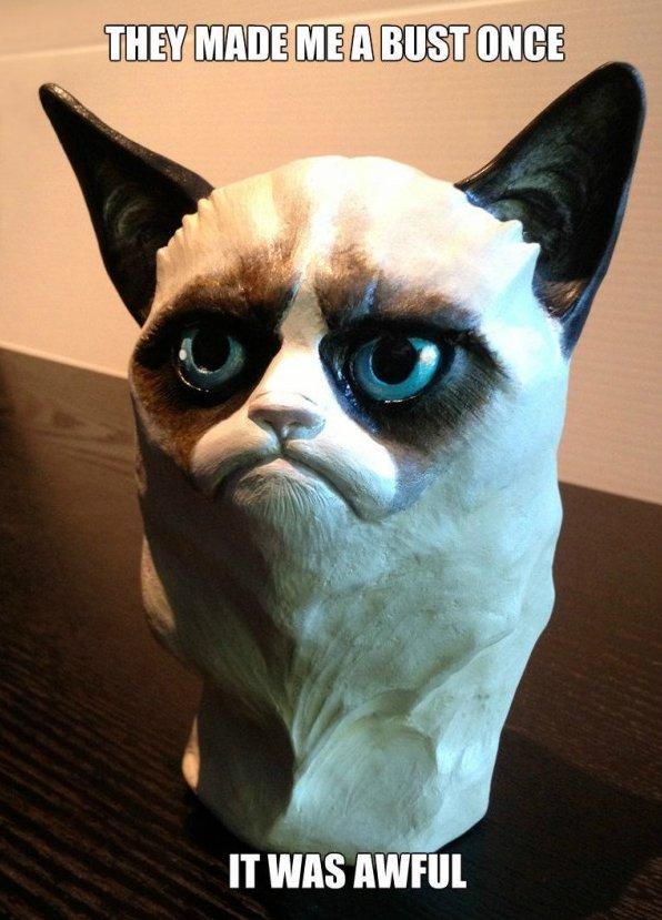 Grumpy Bust