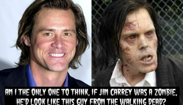 Jim Carrey In The Walking Dead