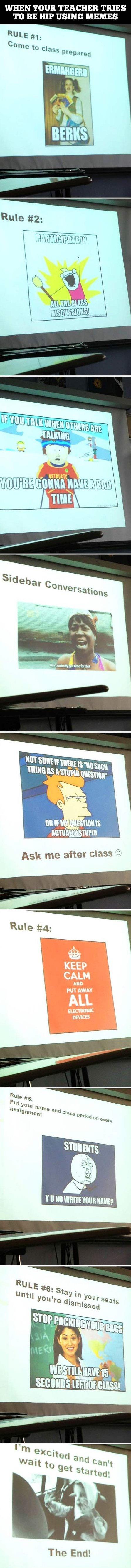 Memes in class