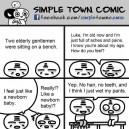 Simple town comics