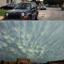 Spectacular cloud formations
