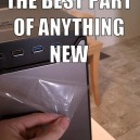 The best part of anything new