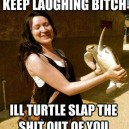 Turtle slap