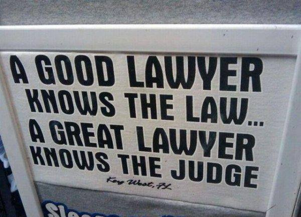 A good lawyer…