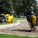 Biker Prefers This Motorcycle