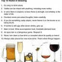 Drinking rules
