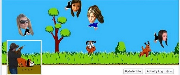 Duck Face Hunt Facebook Timeline cover