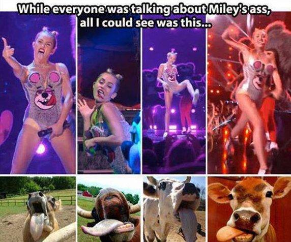 Funny Miley Cyrus