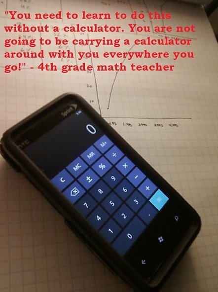 Math Teacher got owned