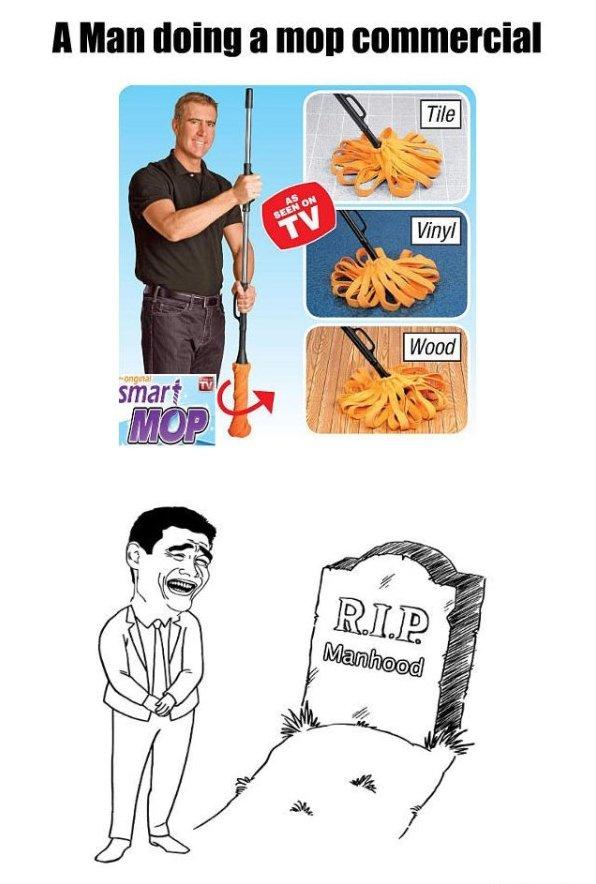 RIP Manhood