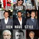 Swag vs. Style vs. Class