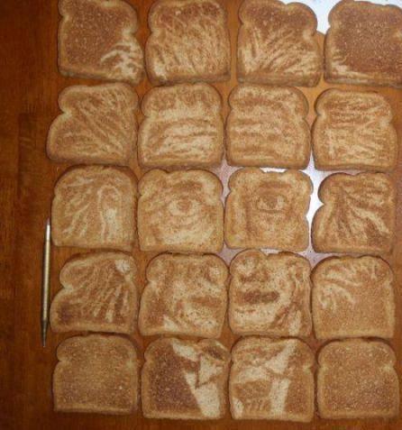 Tasty Toast Art