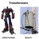 Transformers. Expectation vs. Reality