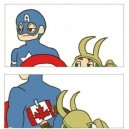 Trolling with Captain America