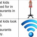 What kids look for in restaurant