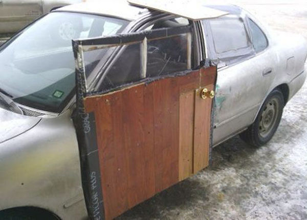 Cheap Way to Fix a Car Door