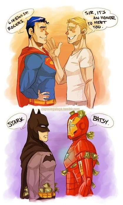 DC meets Marvel