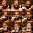 How to brush your teeth like a man!