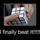 I beat it!