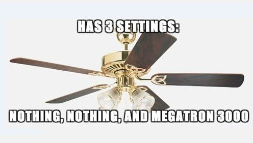 Scumbag Ceiling Fan