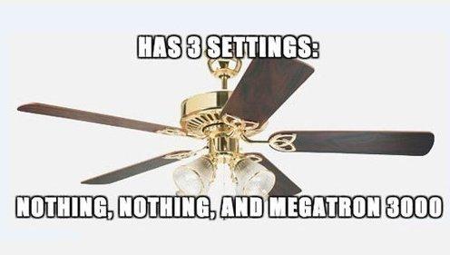 Scumbag Ceiling Fan