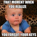 That moment…