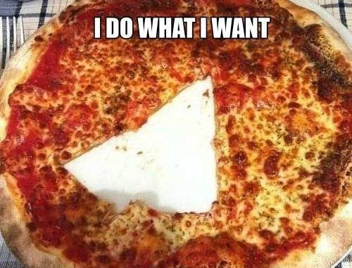 The Pizza Is Ruined!