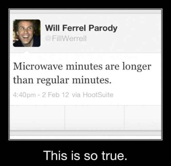 Will Ferrel Twitter Quotes