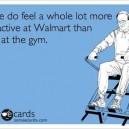 At Walmart