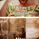 Before and After Girlfriend