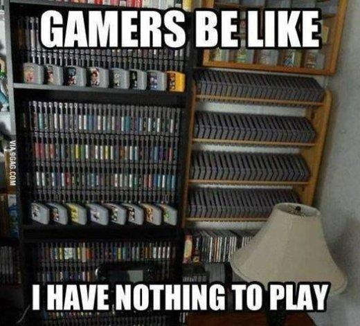 Gamers be like