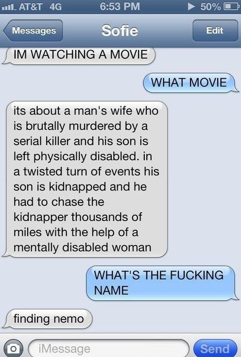 Hilarious Text Message
