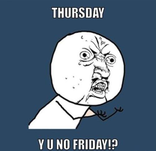 It's Thursday MEME