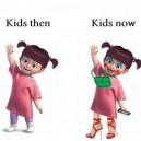 Kinds now and then