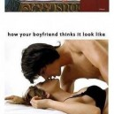Kissing your girlfriend