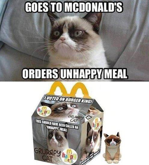 McDonalds Unhappy Meal