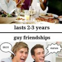 Men and women friendships