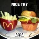Nice try…