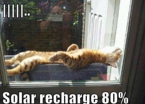 Solar recharge