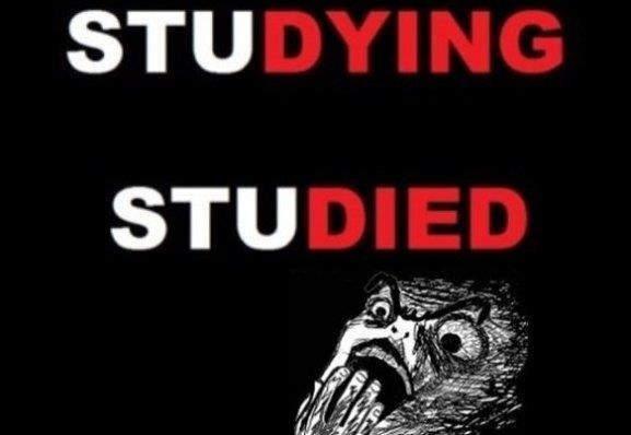 Studying vs. Studied