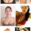 Supermodels With Makeup vs. Without Makeup