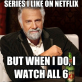 TV series on Netflix
